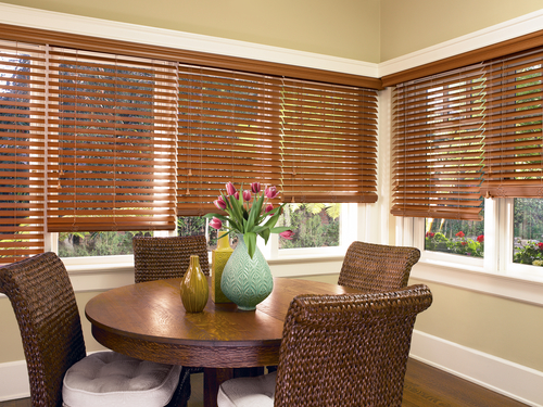 Everwood® Alternative Wood Blinds w/ LiteRise®""