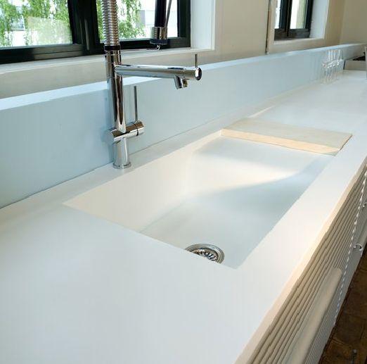 Solid Surface Kitchen Bath